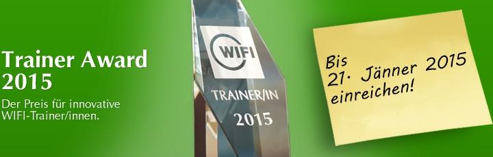 WIFI-Trainer Award 2015